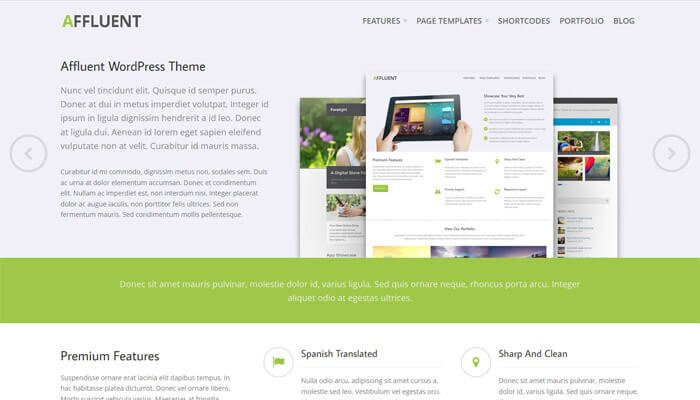 Affluent A New Theme For Businesses And Agencies