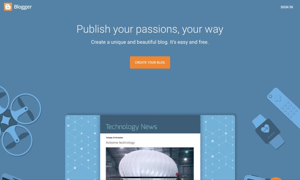 Blogger.com-blogging-platform