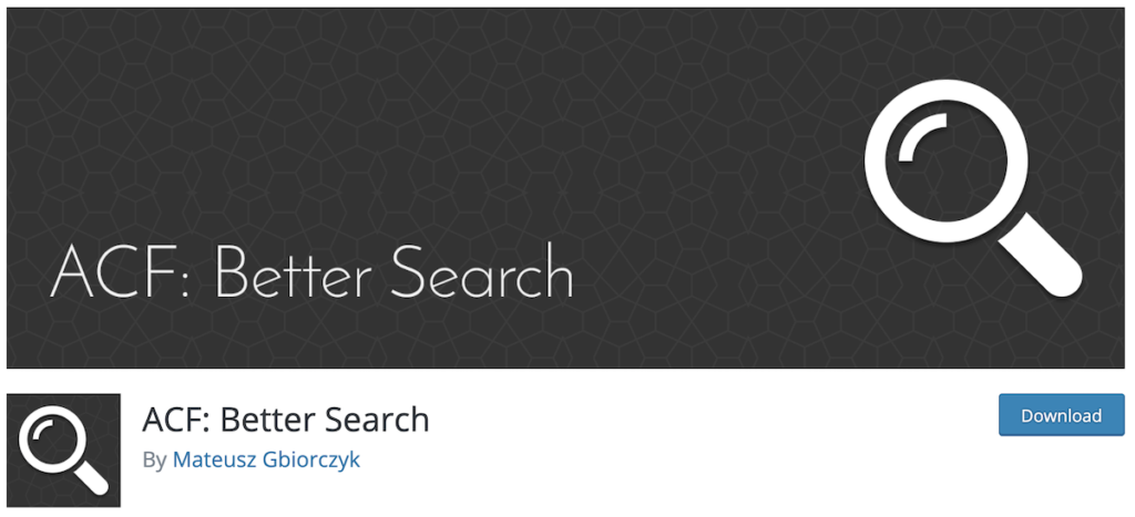 ACF-Better-Search