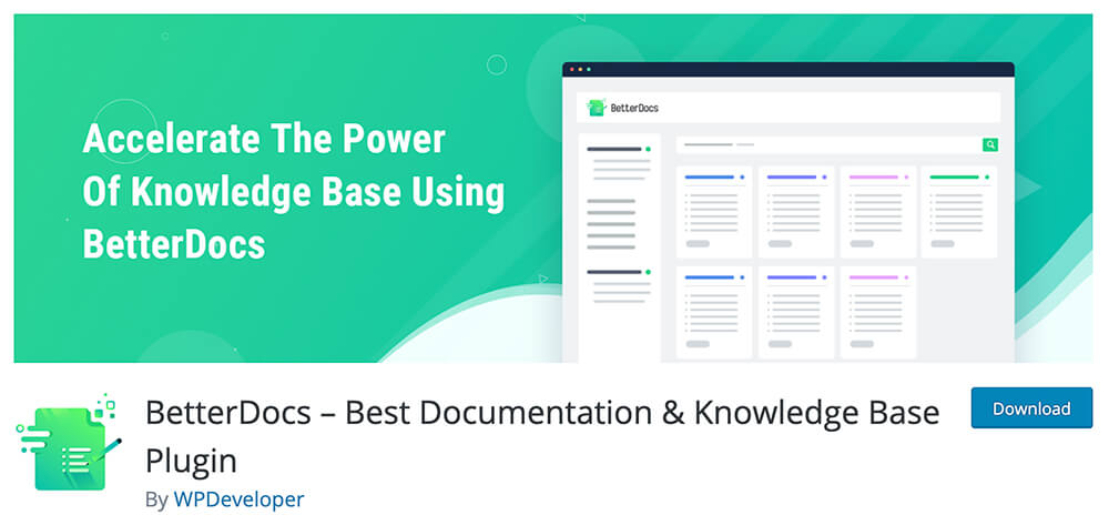 BetterDocs – Best Documentation & Knowledge Base Plugin
