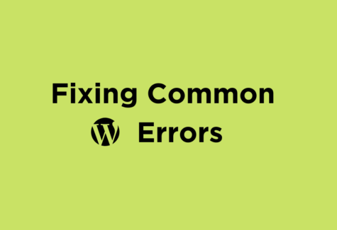 common-wordpress-errors