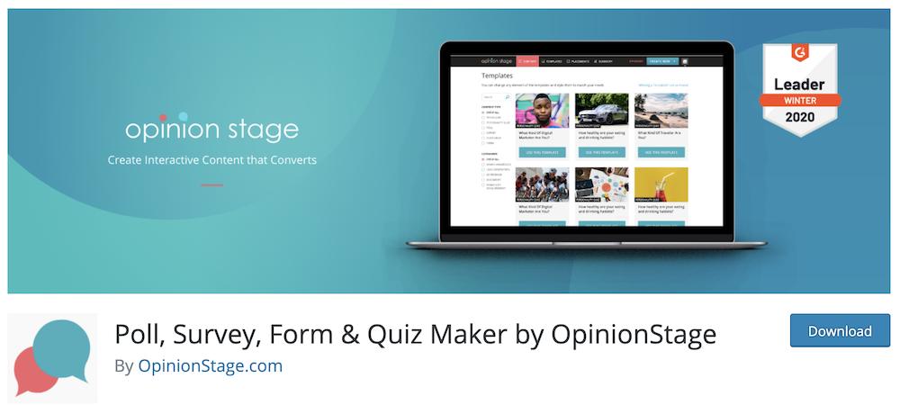 Poll, Survey, Form & Quiz Maker