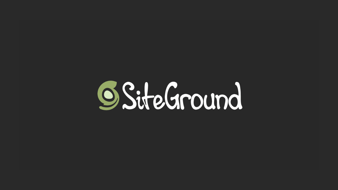 Black Friday  Hosting Siteground Deal