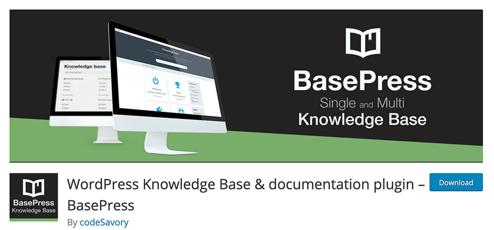 WordPress Knowledge Base & documentation plugin – BasePress