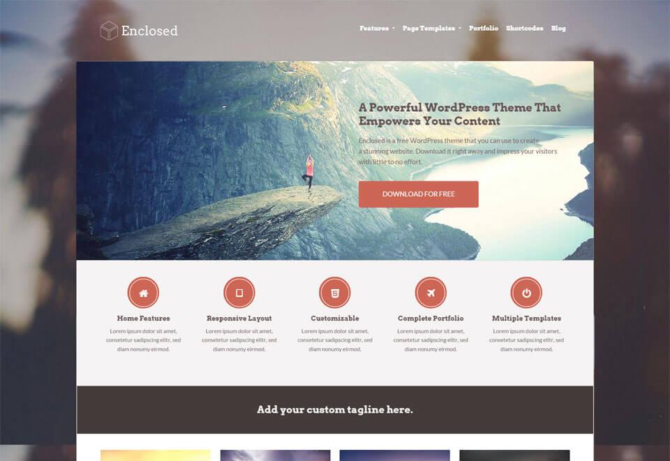 enclosed-wordpress-theme