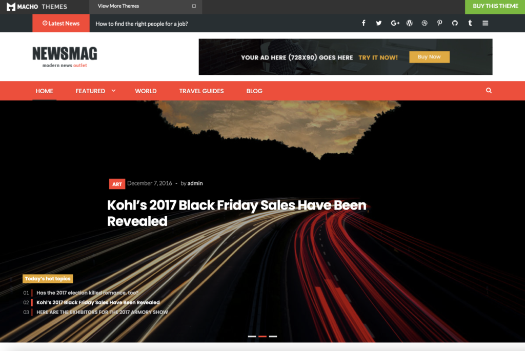 fastest WP themes