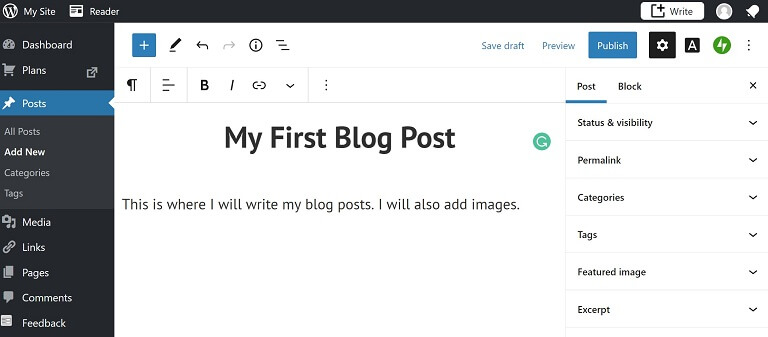 first blog post