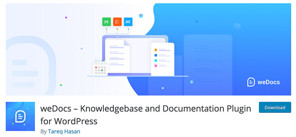 weDocs – knowledge base and Documentation Plugin for WordPress